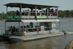 boat cruise at Paraa
